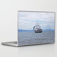 pirate Laptop & iPad Skins featuring Pirate by Caio Trindade