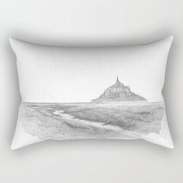Le Mont-Saint-Michel Rectangular Pillow