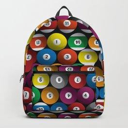 Billiard Pool Balls Backpack