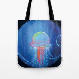 Neon Dreams Tote Bag