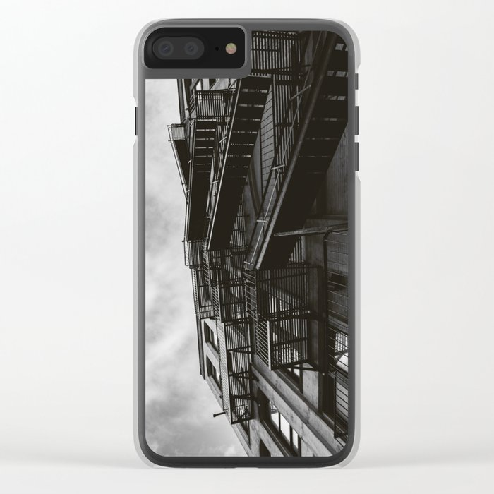 Brooklyn Architecture Clear iPhone Case
