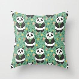 Shu Ye the Panda Throw Pillow
