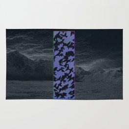 """Welcome Oblivion"" by Tim Lukowiak Rug"