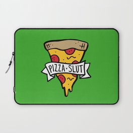 Pizza Slut Laptop Sleeve