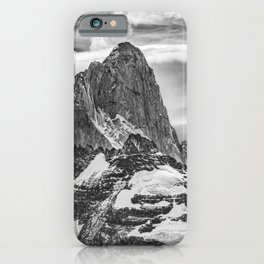 Fitz Roy and Poincenot Mountains, Patagonia Argentina iPhone Case