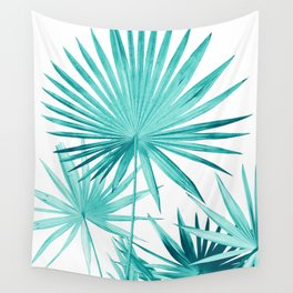 Fan Palm Leaves Jungle #3 #tropical #decor #art #society6 Wall Tapestry