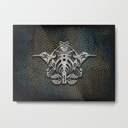 Bassnectar Family Crest (Metal) Metal Print