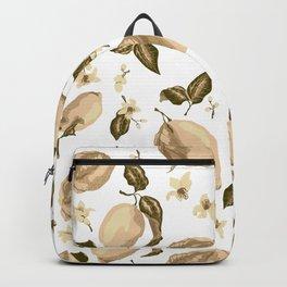 Lemon Slices Graphic Design Backpack