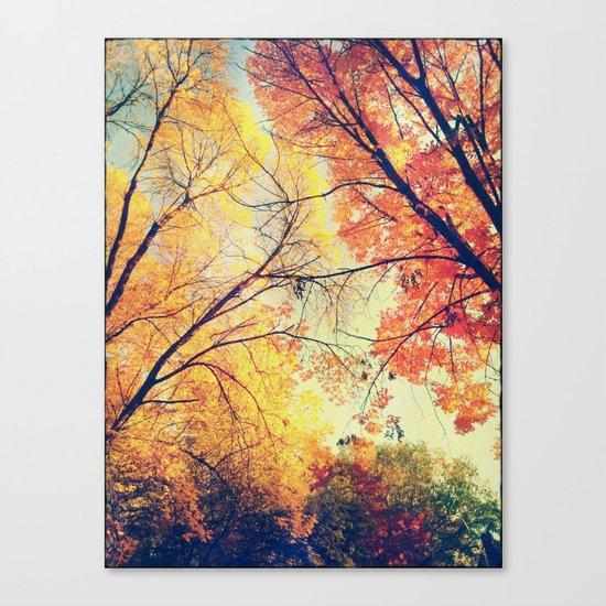Autumn Embrace Canvas Print