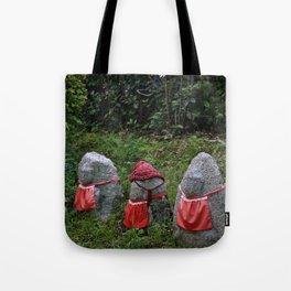 Three Tiny Guardians Tote Bag