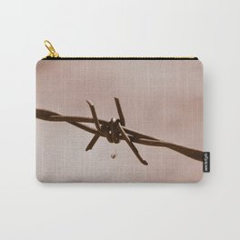Spider on Barbed Wire Carry-All Pouch