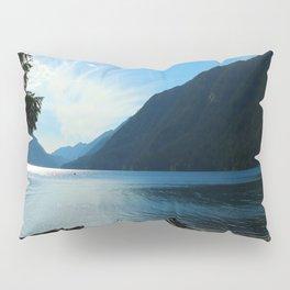 Lake Crescent Shore Pillow Sham