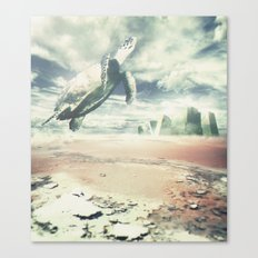 Into the sky Canvas Print