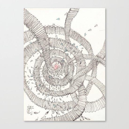 Santa is coming!!! Canvas Print