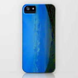 Valley Burst iPhone Case