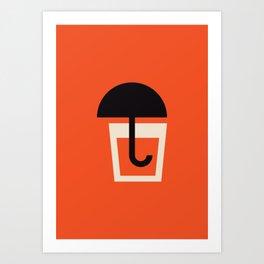 Swedish Summer Drink Art Print