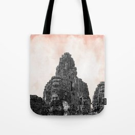 Angkor Wat with candy Tote Bag