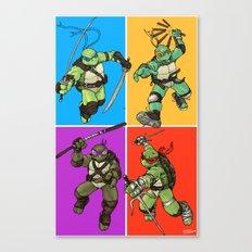 Half Shell Four Ways Canvas Print