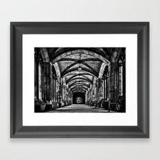 University of Toronto Knox College Cloister No 1 Framed Art Print