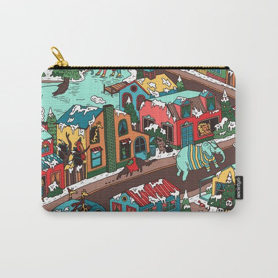 This Place is a Zoo! Carry-All Pouch