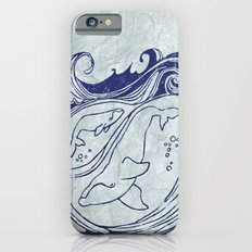 Whales & Waves iPhone 6s Slim Case