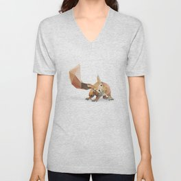 Squirrel. Unisex V-Neck