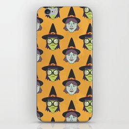 Good Witch VS Bad Witch (Patterns Please) iPhone Skin