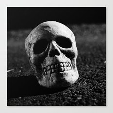 Nocturnal skull Canvas Print