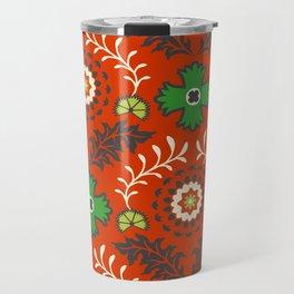 BOHEMIAN FARMHOUSE RED Travel Mug
