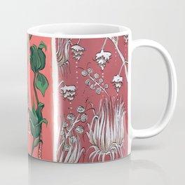 Cool Hues on Warm Background Coffee Mug