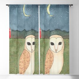 Barn Owl Blackout Curtain