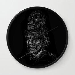 Andy.W Skull Wall Clock