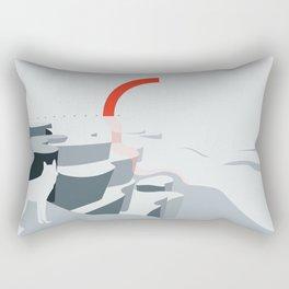 Seastar / Land-Escape CO-VID-19 Rectangular Pillow