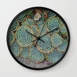 Pattern Green Wall Clock