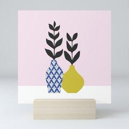 Floral Vase No.1 Mini Art Print