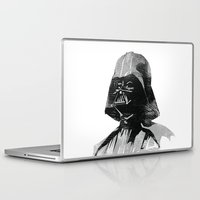 darth vader Laptop & iPad Skins featuring Darth Vader by Hey!Roger