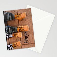 Boots, Two Boys Stationery Cards