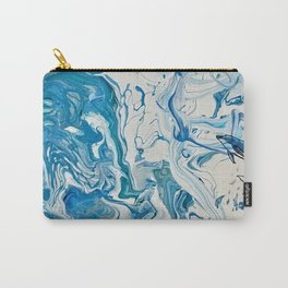 Blue Dolphin Planet Carry-All Pouch