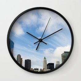 On Top Wall Clock