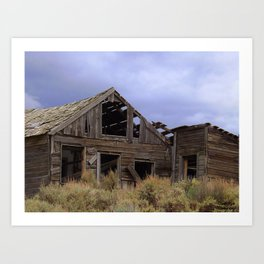 Silver City, Utah Series #2 Art Print