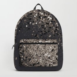 Sepia Glitter #1 #shiny #decor #art #society6 Backpack