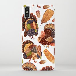 Turkey Gobblers iPhone Case