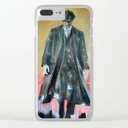 Tommy Shelby Clear iPhone Case