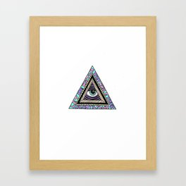 Im Watching You Alone Framed Art Print