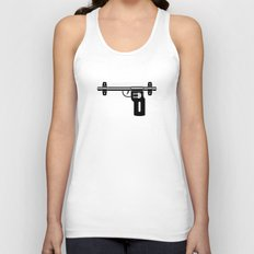 Tight Indian Security Unisex Tank Top