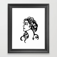 Gypsy Sorrow Framed Art Print