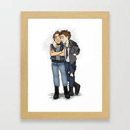 Punk Mystrade  Framed Art Print