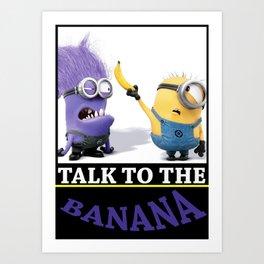 La Banana Art Print