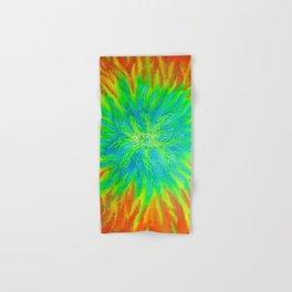 Fire Vortex Hand & Bath Towel