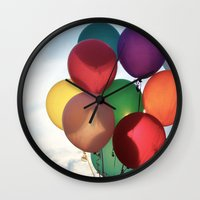 birthday Wall Clocks featuring Birthday by Melwherry